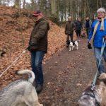Fælles gåtur den 1. april